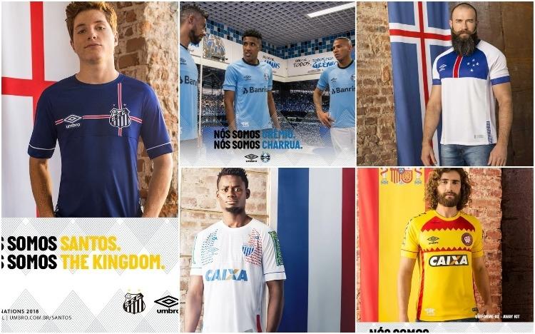 Nova parceira lança série de camisas especiais e Santos vai ... 6fe9c1b4fdb0b