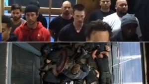 """Chris Evans mostra treinos intensos para cenas de luta de """"Capitão América"""""""