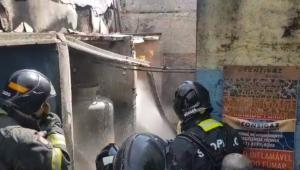 Incêndio em galpão da zona norte de SP deixa uma pessoa ferida