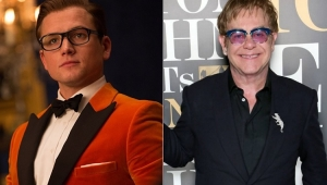 "Taron Egerton, de ""Kingsman"", será Elton John na cinebiografia ""Rocketman"""
