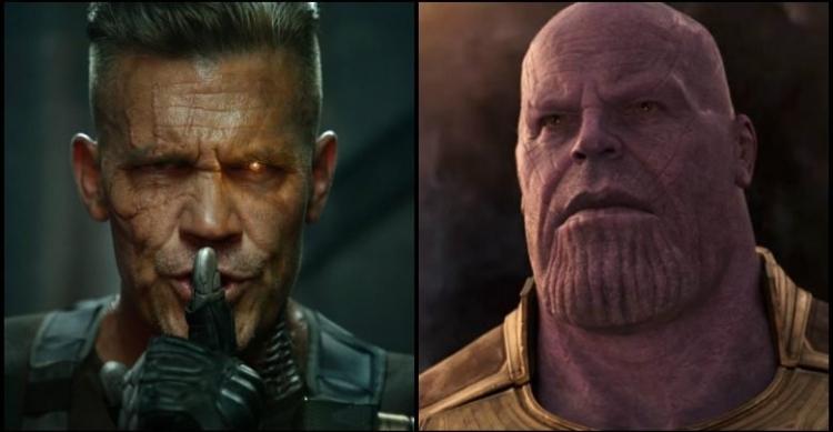 Thanos e Cable Josh Brolin