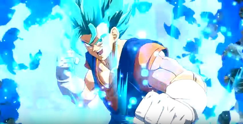 Dragon Ball FighterZ: trailer confirma chegada de Vegetto Super Saiyajin Blue