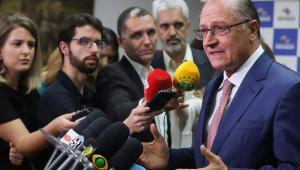58,5% dos eleitores paulistas dizem que Geraldo Alckmin não merece ser presidente