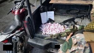 Bope fere dois homens e apreende armamento pesado em Santa Teresa