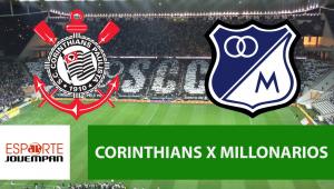 Corinthians xMillonarios: acompanhe o jogo ao vivo na Jovem Pan