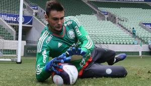 Sem acordo, goleiro Daniel Fuzato é liberado pelo Palmeiras