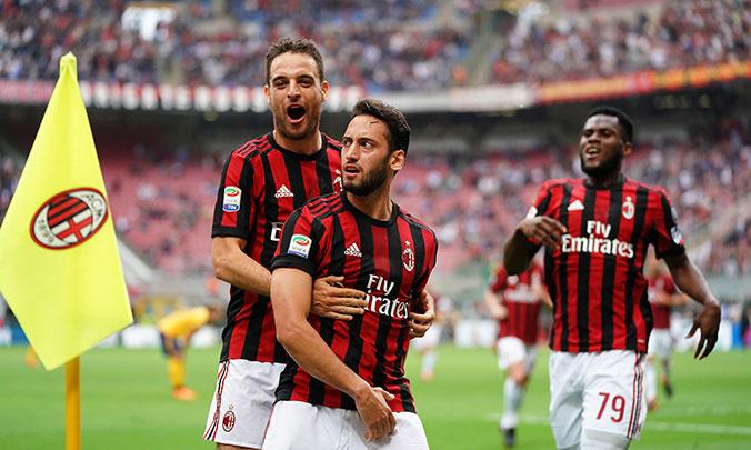 Divulgação ACM Milan ficou em 6º lugar e garantiu vaga na próxima Liga  Europa 3e4e3f0270560