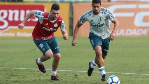 Após classificação na Copa do Brasil, Palmeiras se reapresenta e treina com Moisés e Dudu
