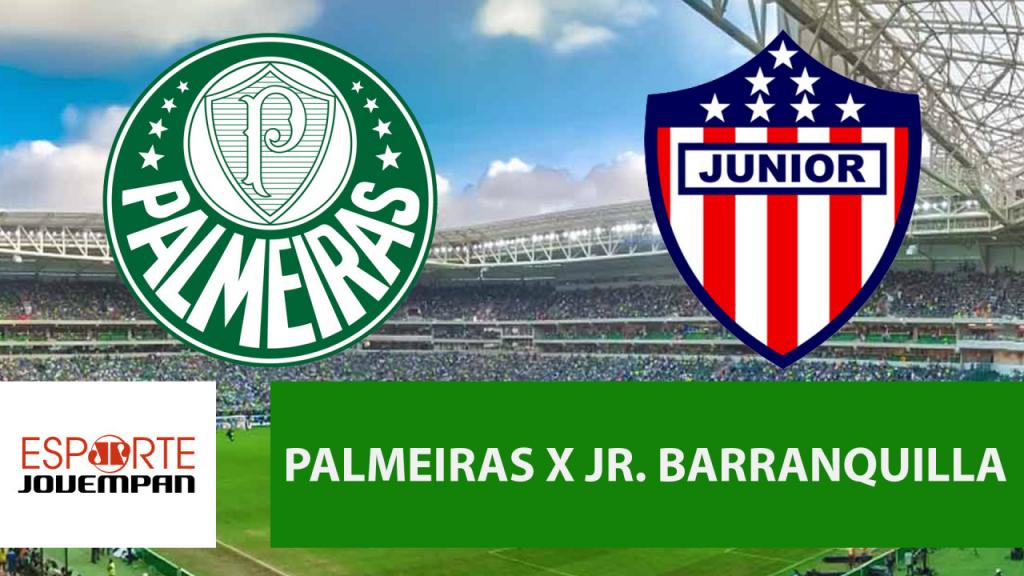 Resultado de imagem para AO VIVO - Palmeiras x Jr. Barranquilla - Libertadores - Jovem Pan Sports