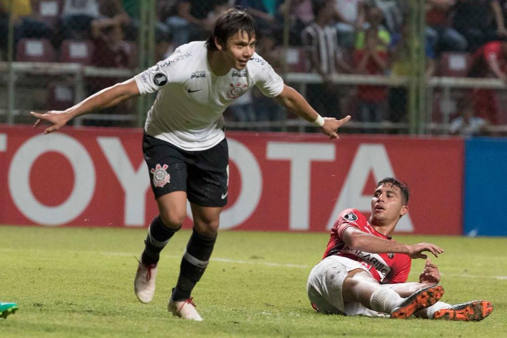 ... Ángel Romero deixou sua marca na goleada do Corinthians sobre o  Deportivo Lara 85700eca4641e