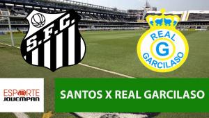 Santos x Real Garcilaso: acompanhe o jogo ao vivo na Jovem Pan