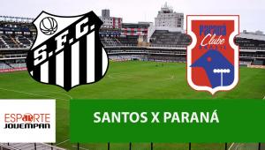 Santos x Paraná: acompanhe o jogo ao vivo na Jovem Pan
