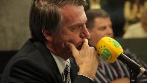 """""""Tenho receio"""" de ser presidente, diz Bolsonaro"""
