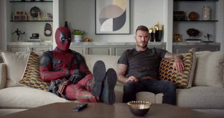 Deadpool pede desculpa a David Beckham em vídeo hilariante