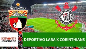 Deportivo Lara x Corinthians: acompanhe o jogo ao vivo na Jovem Pan