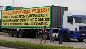 """Ministro do Trabalho diz que movimento dos caminhoneiros é """"bem pontual"""""""