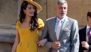 George Clooney atacou de barman e serviu drinques no casamento real