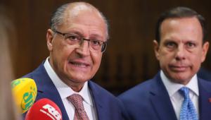 Alckmin diz que com 17% dos votos estará no segundo turno