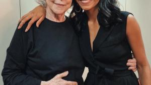 Gleici grava participação em novela e tieta Fernanda Montenegro
