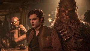"""""""Han Solo: Uma História Star Wars"""" estreia com recorde nos EUA"""
