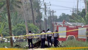 Número de mortos em acidente com avião em Cuba sobe para 110
