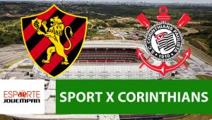 Sport x Corinthians: acompanhe o jogo ao vivo na Jovem Pan