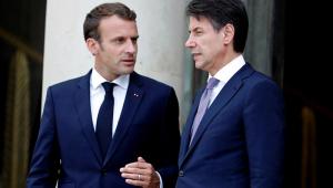 Após conversa com Macron, premiê italiano pede nova política imigratória