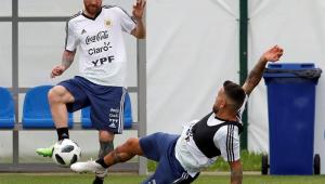 Argentina faz último treino e deve ter mudanças contra Croácia