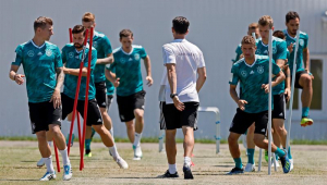 """Alemanha começa a trabalhar em Sochi antes de 1ª """"final"""" na Copa"""