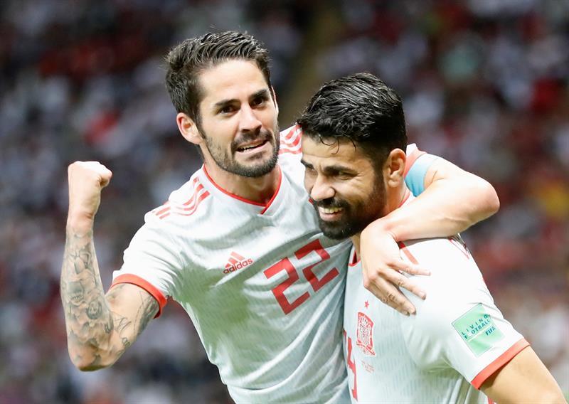 Espanha sofre, mas vence primeira na Copa com gol chorado de Diego Costa