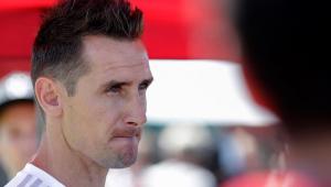 """Klose crê em reação alemã: """"jogamos nossas melhores partidas sob pressão"""""""