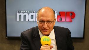 Tentei unir Doria e França, mas não posso proibir ninguém de ser candidato, diz Alckmin