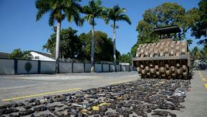 Exército destrói quase nove mil armas no Rio de Janeiro