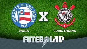 Bahia x Corinthians: acompanhe o jogo ao vivo na Jovem Pan