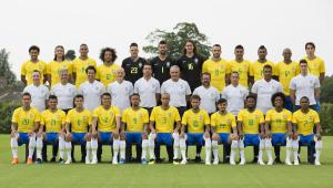 A Seleção Brasileira é a nação de chuteiras nos pés