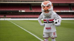"""Inspirado na Seleção Brasileira, São Paulo muda mascote para versão """"pistola"""""""