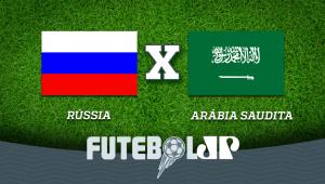 Rússia x Arábia Saudita: acompanhe o jogo ao vivo na Jovem Pan