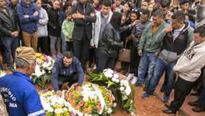 Menina Vitória Gabrielly é enterrada no município de Araçariguama