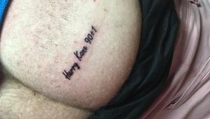 Torcedor tatua nome de Harry Kane por causa de gol na Copa do Mundo