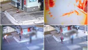 Homem, já identificado pela Polícia, joga gasolina e ateia fogo em porteiro na Região Serrana do RJ