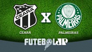 Ceará x Palmeiras: acompanhe o jogo ao vivo na Jovem Pan