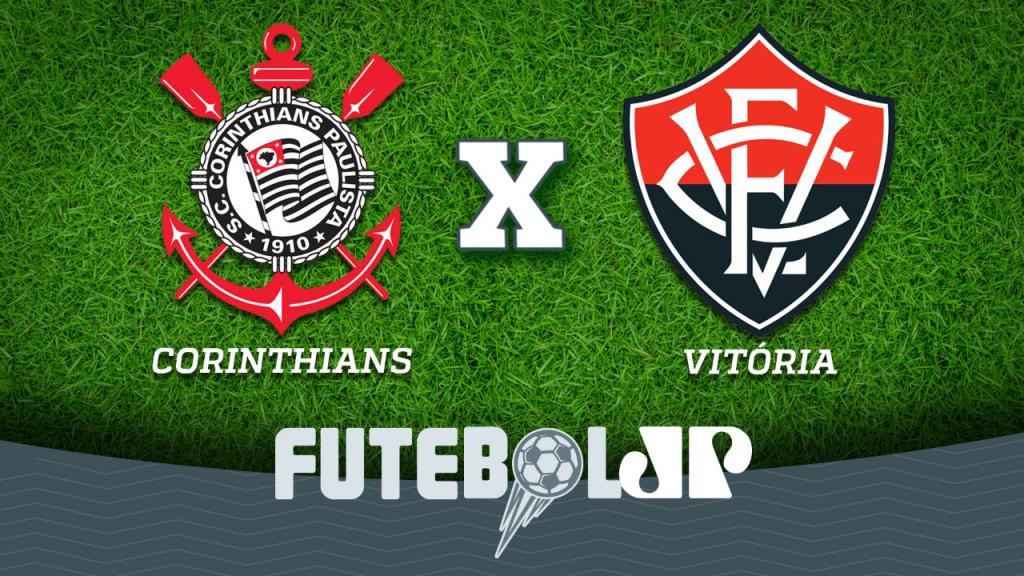 e68e092544 Corinthians x Vitória  acompanhe o jogo ao vivo na Jovem Pan
