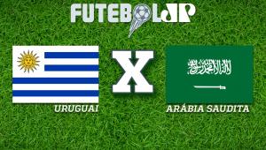 Uruguai x Arábia Saudita: acompanhe o jogo ao vivo na Jovem Pan