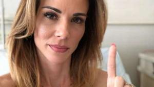 'A cura é minha': Ana Furtado comemora última sessão de radioterapia