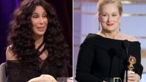 Cher revela que ela e Meryl Streep já salvaram mulher de estupro
