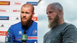 """A internet não sabe lidar com as semelhanças da Seleção da Islândia e o seriado """"Vikings"""""""