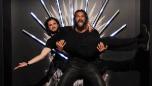 Jason Momoa e Kit Harington