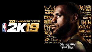 LeBron James capa NBA 2K19