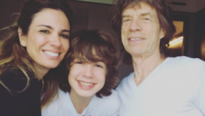 Mick Jagger causa climão entre Galvão e Lu Gimenez