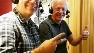 Mauro Beting e Milton Leite